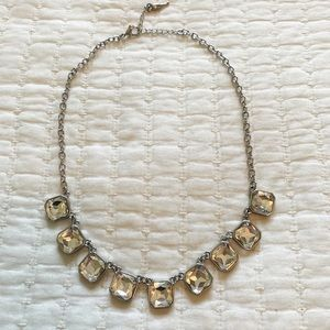 Chloe + Isabel Clear Crystal Statement Necklace